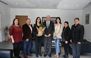 Güngördü, 19 Mayıs Türk Maarif Koleji yetkilileri...
