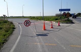 Güvercinlik kavşağından itibaren trafiğe kapatıldı
