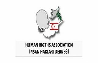 İnsan Hakları Derneği'nden protesto