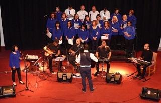 İskele Belediye Korosundan 2020'nin ilk konseri