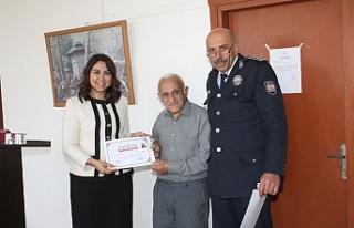 Kalfalık eğitimini tamamlayan 30 mahkuma diploma