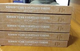 Kıbrıs Türk Edebiyatı Tarihi beş cilt halinde...