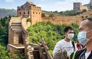Koronavirüs salgını nedeniyle Çin Seddi'nin...