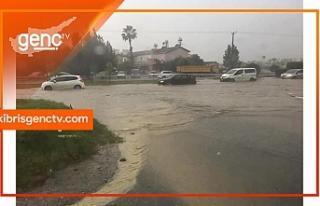 Lekoşa - Mağusa gidiş yönü trafiğe kapatıldı
