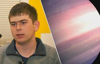 Lise öğrencisi, NASA'daki stajının üçüncü...