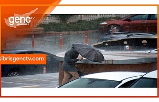 Meteoroloji Dairesi'nden yağış ve fırtına uyarısı...