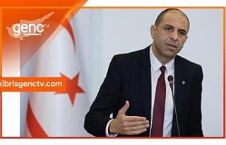 Özersay bağımsız Cumhurbaşkanı adayı olduğunu...