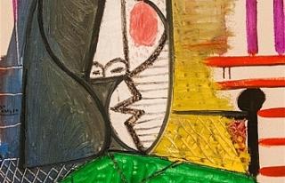 Picasso'nun 157 Milyon değerindeki tablosu yırtıldı