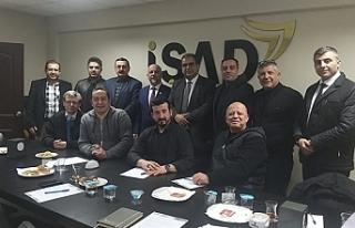 Sucuoğlu, İŞAD toplantısına katıldı