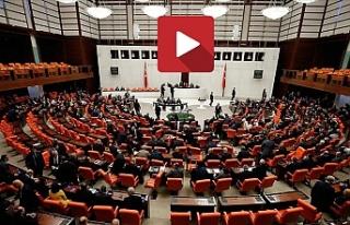 TBMM Genel Kurulu Libya tezkeresi için olağanüstü...