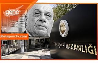 """Türkiye Dışişleri Bakanlığı'ndan """"Denktaş""""..."""