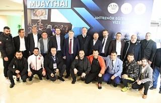 Türkiye Muaythai Federasyonu toplantısına katılım