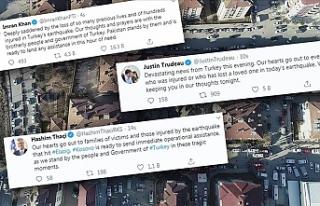 Türkiye'ye dünyadan destek mesajları