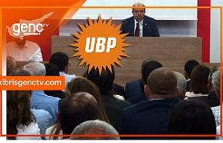 UBP'de Parti Meclisi, Cumhurbaşkanı adayını...