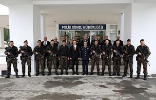 Uluçay'dan Polis Genel Müdürü Manavoğlu'na...