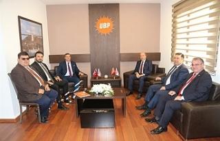YDP-UBP görüşmesi tamamlandı