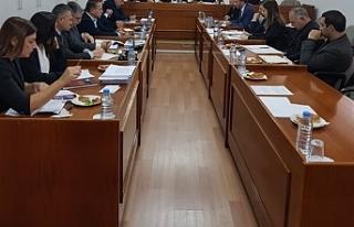 AD-HOC Komitesi toplandı