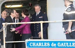 """Anastasiadis: """"Fransız gemisi net bir mesaj..."""