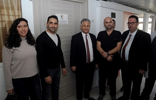 Ares spor kulübü, hastanede iki odayı yeniledi