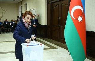 Azerbaycan'da resmi olmayan sonuçlara göre...