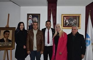 Baf Türk Birliği yetkilileri Ataser'i ziyaret...