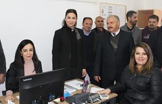 Bakanlığın Yenierenköy bucak hizmet binası himete...