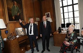 Başbakan'ın Londra temasları başladı