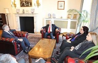 Başbakan Tatar TC Londra Büyükelçisi Yalçın'ı...