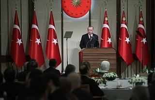 """Erdoğan: """"Şu ana kadar 2 bin 100'ün üzerinde..."""