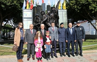 Eroğlu'ndan Mersin-Erdemli'ye ziyaret