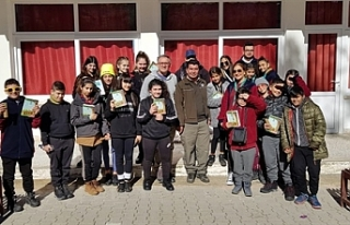 Esentepe'de kış izcilik kampı