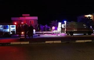 Gazimağusa'da 2 ayrı kaza
