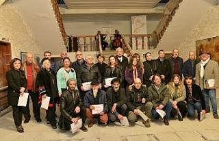 Girne Müzesine dönüştürülmekte olan binada ilk...