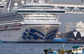 Japonya'da karantinadaki gemide 67 kişide daha...