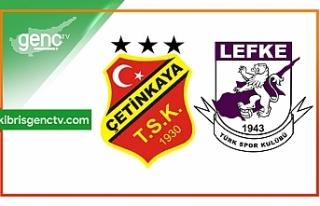 Kıbrıs Kupası 2.turun ilk maçı oynandı