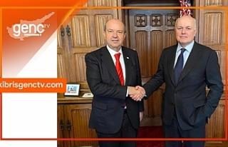 Tatar, Muhafazakar Parti eski Bakanı ile görüştü