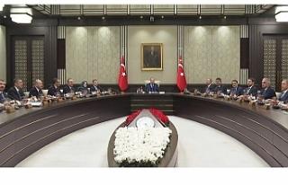 Türkiye Cumhurbaşkanlığı Kabinesi bugün toplanıyor
