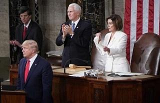 Trump'ın konuşmasında şoke eden anlar