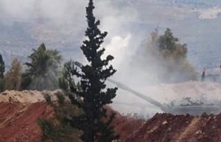 TSK, İdlib'de sivil yerleşimleri vuran rejime...