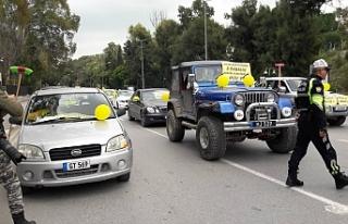 """""""Yol Yoksa Seyrüsefer de Yok"""" eylemi Meclis önünde"""