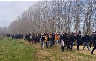 135 bin 844 göçmen sınırı geçti