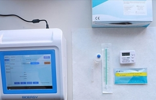 15 dakikada sonuç alınabilen koronavirüs hızlı...