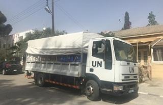 Adaya yeni gelen BM personeli 14 günlük tecritte...