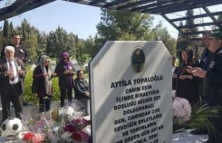 Attila Topaloğlu anıldı