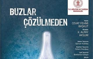 """""""Buzlar Çözülmeden"""" adlı oyun Girne'de bu..."""