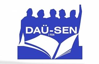 DAÜ SEN, Büyükkonuk çalışanlarına destek belirtti