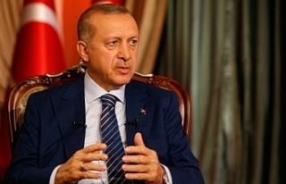 """Erdoğan: """"Koronavirüse karşı amansız bir..."""