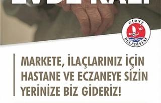 Girne Belediyesi,İkinci Bahar üyeleri için hizmet...