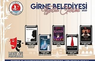 Girne Belediyesi'nin Tiyatro Günleri Etkinlikleri...