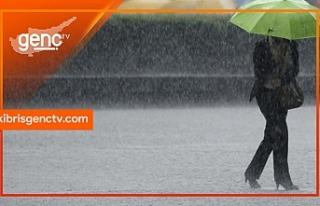Havanın hafta boyunca serin ve yağmurlu olması...